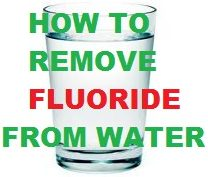 water filter that removes fluoride